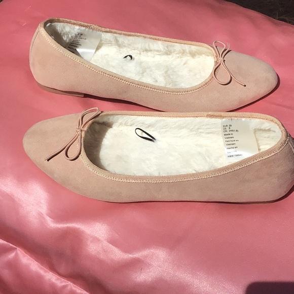MAKE AN OFFER! CottonCandy Soft-fuzzy Ballet Flats